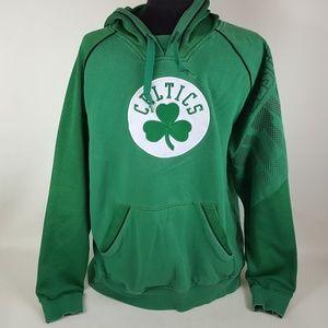 Adidas Boston Celtics Pullover Hoodie, Mens Medium